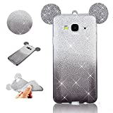 Best 2015 Téléphones - Sycode Silicone Coque pour Galaxy A5 2015,Glitter Coque Review