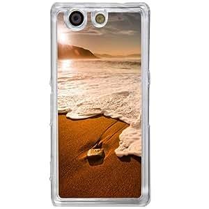 Casotec Sun Set Beach Design 2D Hard Back Case Cover for Sony Xperia Z4 Mini