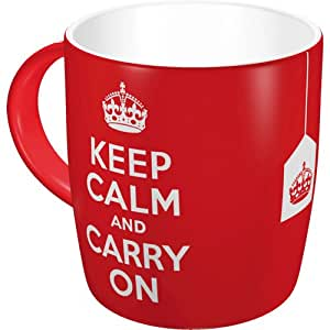 Nostalgic-art 43009 tazza United Kingdom Keep Calm and Carry On