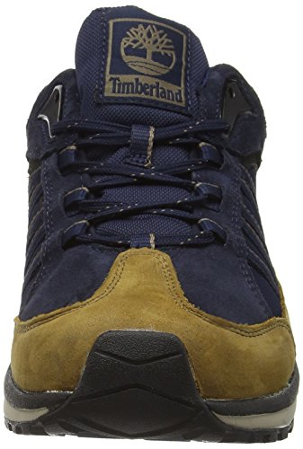Timberland Edgewater Low Waterproof, Chaussures à Lacets Homme Marron - Brown (Dusty)