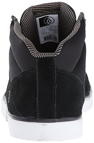 Volcom Grimm Mid 2 Shoe, Baskets Basses Homme Noir - Schwarz (Black Gum)