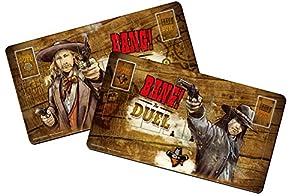 Dv Giochi dvg9114-Bang. The Duel Player Mats-Accesorio para Juegos