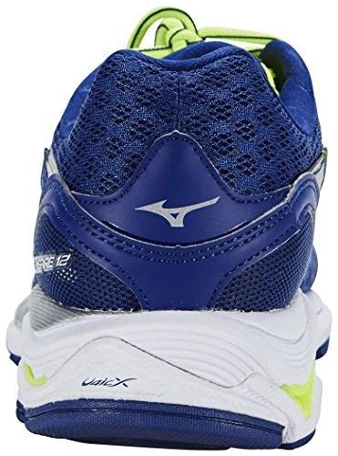 Mizuno Wave Inspire 12, Chaussures de Running Compétition homme Blue Depths / Silver / Danube