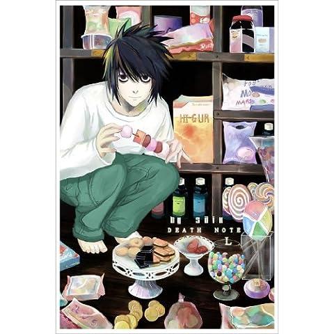 Death Note Poster On Silk <35cm x 52cm, 14inch x 21inch> - Affiche de Soie - 8FF45E