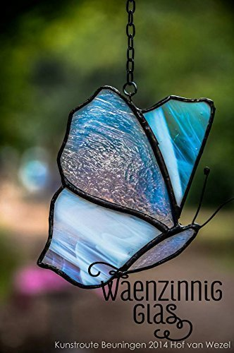 Glasmalerei Schmetterling -