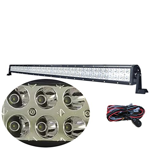 gbar-42400w-spot-cree-led-light-bar-offroad-driving-lamp-4wd-atv-suv-offroad-tractor-jeep-truck-wire