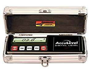 Longacre Racing 78311 Acculevel Digital Level Pro Model w/Case
