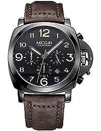 Megir Cronógrafo hodinky Relojes Top Marca Luxury Sports masculinos para hombre