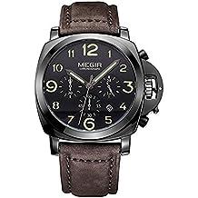 Reloj para hombre de Megir, cronógrafo