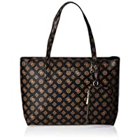 Guess Womens Tote Bag, Brown - PQ745223