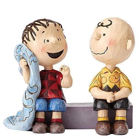 Enesco 4054081 Peanuts by Jim Shore Sage Advice - Charlie