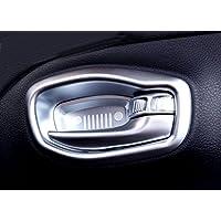 Auto Adesivi Cornice Rivestimento Decorativo Accessori per Nissan Qashqai J11 2014-2019 GLFDYC 4 Pezzi Ciotola Copertura della Maniglia Interna della Portiera