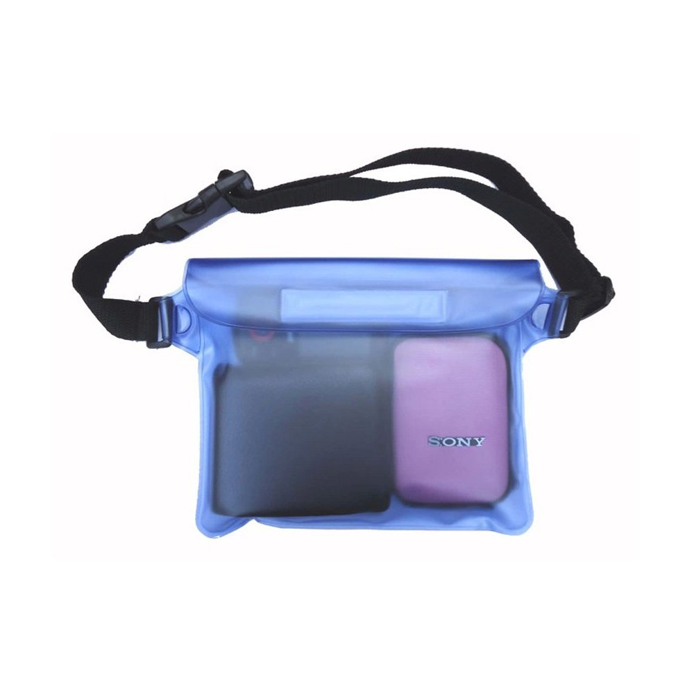 Sijueam Waterproof Pouch Submersible Dry Bag Case for Cell phone