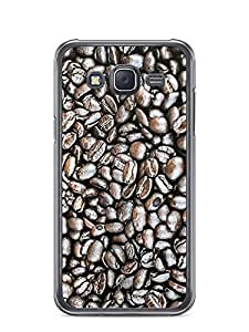 YuBingo Coffee Beans Designer Mobile Case Back Cover for Samsung Galaxy J5