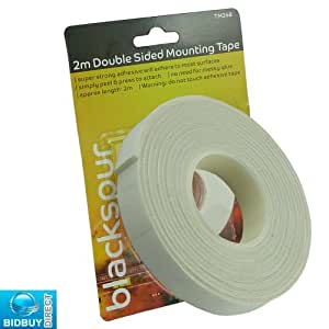 BRAND NEW - 2M DOUBLE SIDED MOUNTING TAPE - SUPER STRONG ADHESIVE - IDEAL FOR HOME AND OFFICE USE