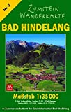 Zumstein Wanderkarte Bad Hindelang: 1:35000 (Zumstein Wanderkarten)