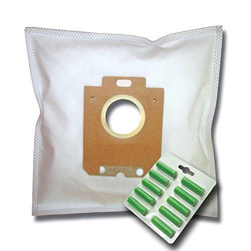 20 Staubsaugerbeutel + 20 Duftstäbe + Hepa Filter (H12) geeignet für AEG PowerForce CLASSIC Hygiene Filter APF6111 APF 6111