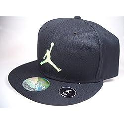 Nike Jordan Jumpman True Fitted Cap negro-verde Full 507942-018 tamaño 8