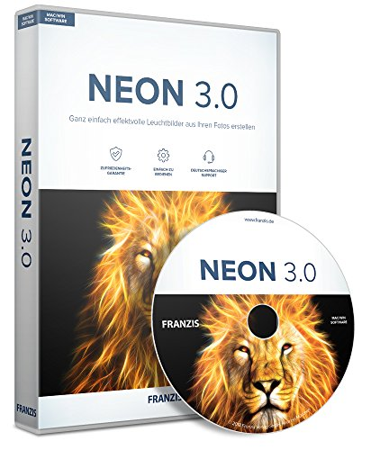 FRANZIS Neon 3.0|3.0|3 Geräte|-|Windows 10/8.1/8/7 & Mac OS X ab 10.7|Disc|Disc