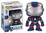 Pop Marvel Iron Man 3 Figure Iron Patriot