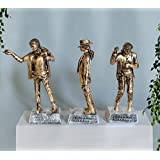 [Sponsored]TiedRibbons Michael Jackson Showpiece Set Of 3 Decoration Handicraft Sculptures Showpiece Statue Figurines Items For Drawing Room Living Room Office Bed Room Garden Home Decor And House Warming Gifts