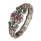 Huoduoduo Armband, Damenarmband, Vintage-altes großes Armband, Armband im asiatischen Stil