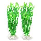 sourcingmap Kunstpflanze für Aquarien, Seetang, 30,5cm, Grün