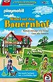 Schmidt Spiele 40593 Playmobil, Wirbel auf dem Bauernhof, bunt