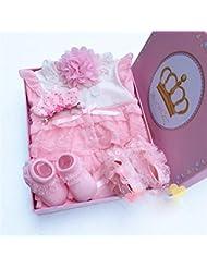 SHISHANG Regalo de regalo del bebé Caja de regalo Niño Niña Regalos de bebé para 0-12 meses Recién nacido 93% Algodón + 7% Spandex Four Seasons Gift Bag , 80cm