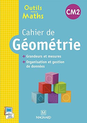 Cahier de géométrie CM2 : Grandeurs et mesures, organisation et gestion des données par Sylvie Carle