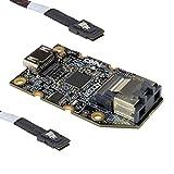 Adattatore da LVDS a HDMI, mini SAS.