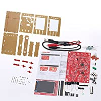 KKmoon DSO138 2.4 inch TFT Handheld Digital Pocket Oscilloscope Kit SMD Soldered + Acrylic DIY CASE Cover Shell for DSO138