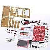 KKmoon Digitales Oszilloskop Kit【2.4 Zoll TFT Handheld Taschenformat SMD Gelötet + Acryl DIY Gehäuse Cover Schale für DSO138】