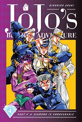 JoJo's Bizarre Adventure Part 4 Diamond Is Unbreakable 4: Volume 4