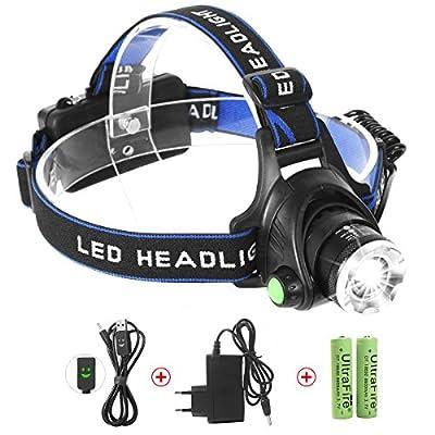 LED Stirnlampe, Neolight 1000 Lumens LED Stirnlampe Scheinwerfer Kopflampe Stirnlampe Wasserdicht Wiederaufladbare USB LED Stirnlampen