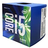Intel Box Core Processore i5-6400 6th Generation, 2.7 GHz (massimo 3.3 GHz), 14 nm, Argento
