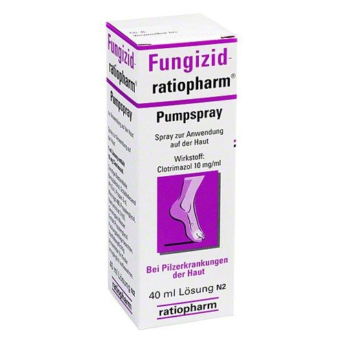 Fungizid-ratiopharm Pumpspray, 40 ml Spray