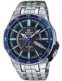 Casio Edifice – Reloj Hombre Analógico con Correa de Acero Inoxidable – EFR-106D-1A2VUEF