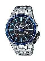 Casio Herren-Armbanduhr Edifice Analog Quarz Edelstahl EFR-106D-1A2VUEF