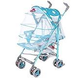 CDREAM Kinderwagen Leichtes Falten Kann Sitzen Ruhen Wagen Neugeborenes Baby Regenschirm Sommer-Kinderwagen,Blue