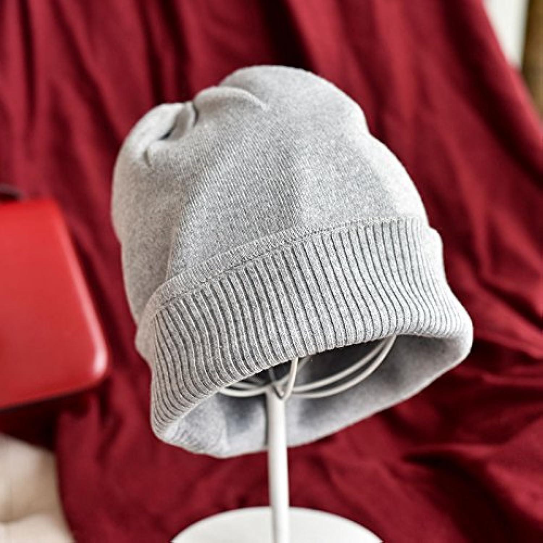 NMDNNJ Signora Berretti Inverno Caldo Cappello Spesso Maglia Cappello Caldo  Elastico Neve Berretto Parent dba675 cecaf6b011e2