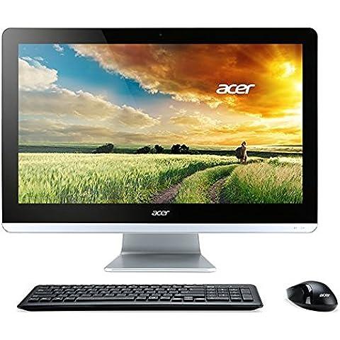 Acer Aspire AZC-700 - Ordenador de Sobremesa All In One de 19.5'' Full HD (Intel Pentium Quad Core N3700, 4 GB, 500 GB, Windows 8.1 actualizable gratis a Windows 10), negro y