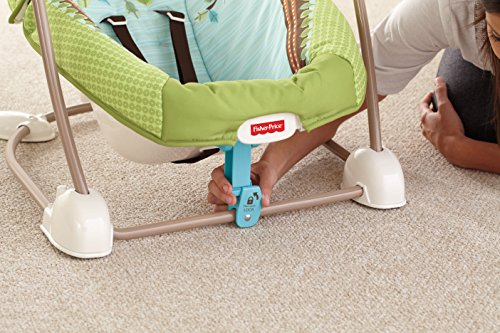 Fisher-Price modelo BBD08 Hamaca bebe electrica bosque - 3
