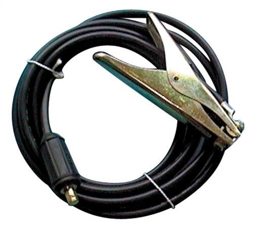 Erdklemme L.5m/25mm2 gr.Stecker 13mm 300A konfektioniert Ku. Stecker