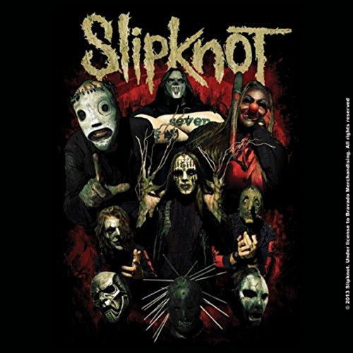 Slipknot Come Play Dying band logo 9.5cm x 9.5cm single cork Untersetzer
