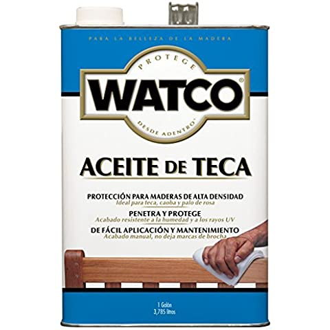RUST-OLEUM 67131 Watco Gallon Teak Oil Finish