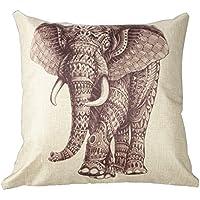 Elefante africano cuscino stampa 45,7cm da 45,7cm