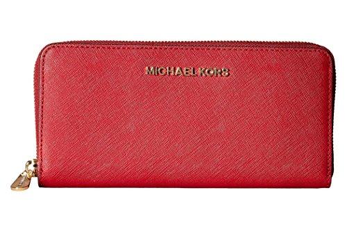 MICHAEL Michael Kors Femmes Jet-Set sac de voyage Cerise Rouge