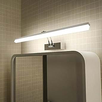 daeou acryl spiegel vordere lampe badezimmer badezimmer wasserdichte spiegelschrank lampen led. Black Bedroom Furniture Sets. Home Design Ideas