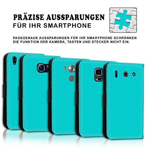 Wallet Book Style Flip Handy Tasche Case Schutz Hülle Schale Motiv Etui für Apple iPhone 6 / 6S - Variante UMV9 Design12 Design 8